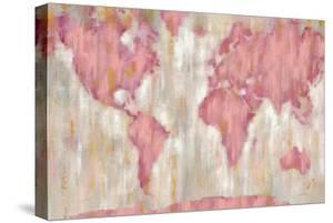 Blushing World Map v2 Crop by Silvia Vassileva