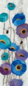Bold Anemones Panel III by Silvia Vassileva