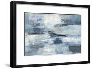 Clear Water Indigo and Gray by Silvia Vassileva