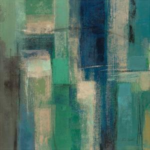 Emerald Fields Square I by Silvia Vassileva