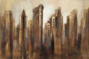 Flatiron Skyline by Silvia Vassileva