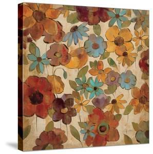 Floral Sketches III by Silvia Vassileva
