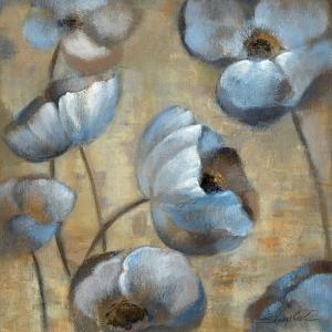 Flowers in Dusk I by Silvia Vassileva