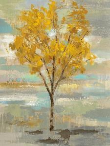Golden Tree and Fog I by Silvia Vassileva