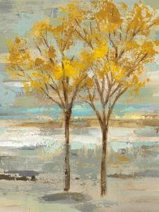 Golden Tree and Fog II by Silvia Vassileva