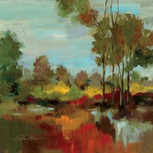 Hidden Pond Hues II by Silvia Vassileva