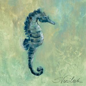 Indigo Sea Life I by Silvia Vassileva
