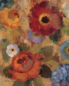Jacquard Floral II by Silvia Vassileva