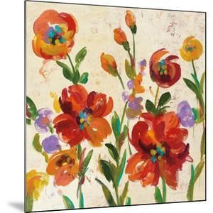 July in the Garden II Cream Crop by Silvia Vassileva