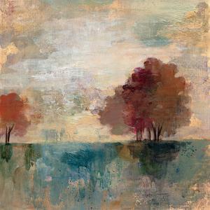 Landscape Monotype I by Silvia Vassileva