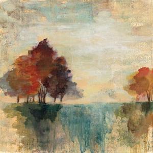 Landscape Monotype II by Silvia Vassileva