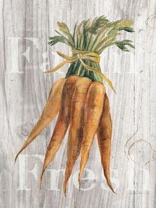 Market Vegetables I on Wood by Silvia Vassileva