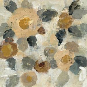 Neutral Floral Beige II by Silvia Vassileva