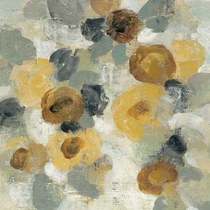Neutral Floral Beige III Yellow Flowers by Silvia Vassileva