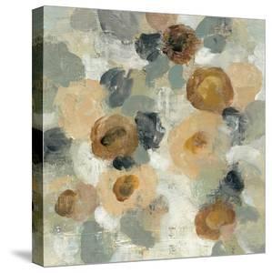 Neutral Floral Beige III by Silvia Vassileva