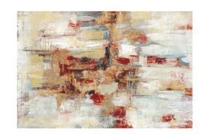 Old Bridge Reminiscence Red by Silvia Vassileva