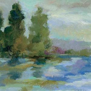 Sunrise at the Lake I by Silvia Vassileva