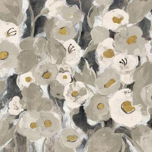 Velvety Florals Neutral II by Silvia Vassileva