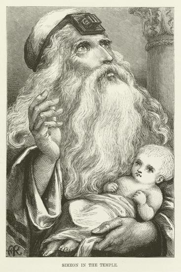 Simeon in the Temple--Giclee Print