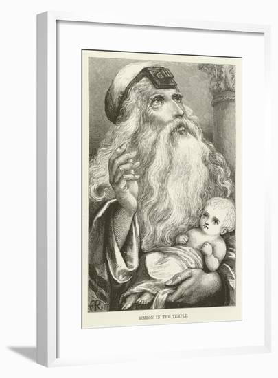 Simeon in the Temple--Framed Giclee Print