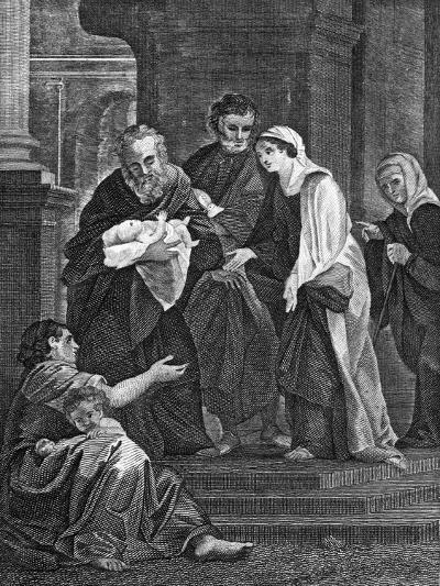 Simeon's Benediction, 1814--Giclee Print