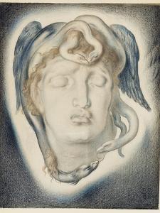 The Head of Medusa, 1884 by Simeon Solomon
