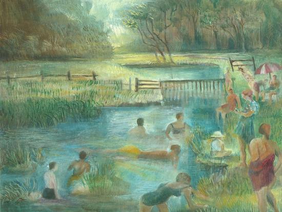 Simmers, Simonsbath-Mary Kuper-Giclee Print