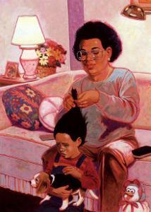 Comb and Brush by Simmons