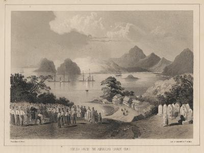Simoda from the America Graveyard, 1885-Wilhelm Joseph Heine-Giclee Print