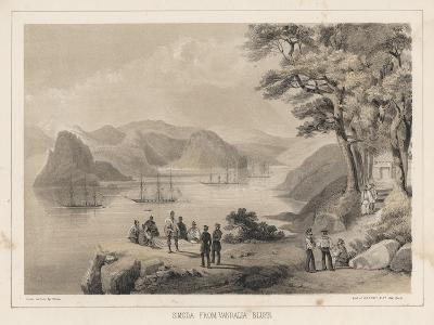 Simoda from Vandalia Bluff, 1855-Wilhelm Joseph Heine-Giclee Print