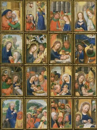 Life of the Virgin, from the 'Stein Quadriptych'