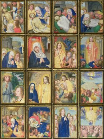 The Burial of Christ, from the 'Stein Quadriptych'