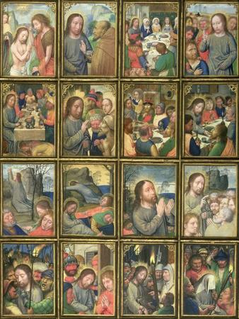 The Life of Christ, from the 'Stein Quadriptych'