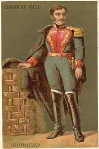 Simon Bolivar, Venezuelan Military and Political Leader