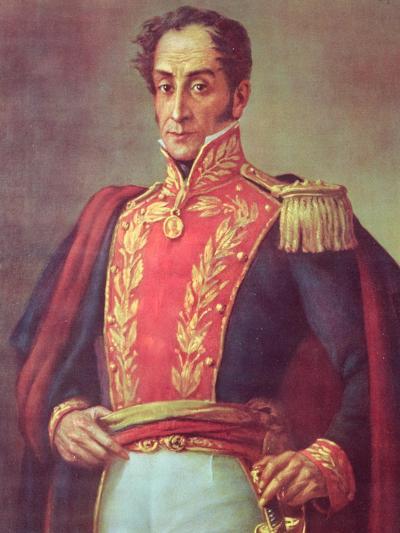 Simon Bolivar--Giclee Print