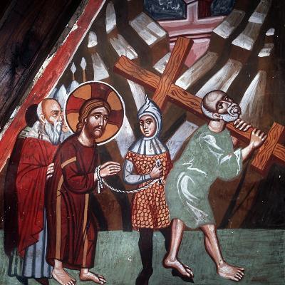 Simon Carrying the Cross, 1494-Philippos Goul-Giclee Print