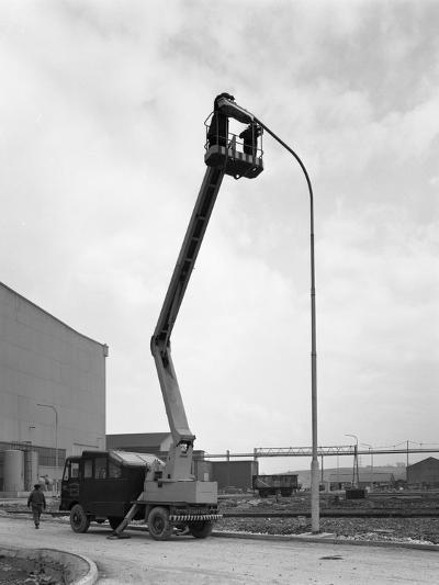 Simon Cherry Picker, Park Gate Iron and Steel Co, Rotherham, South Yorkshire, 1964-Michael Walters-Photographic Print