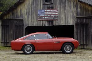 Aston Martin DB4 GT by Touring 1960 by Simon Clay