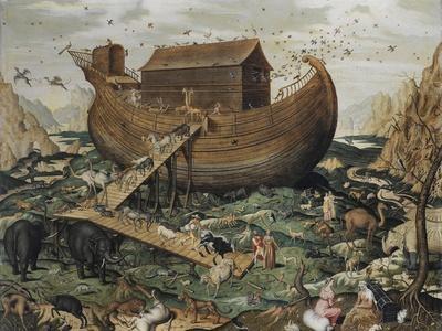 The Noah's Ark on Mount Ararat