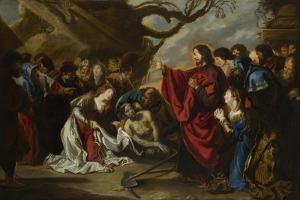 The Raising of Lazarus by Simon de Vos