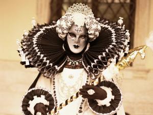 Carnival Costume, Venice, Veneto, Italy by Simon Harris