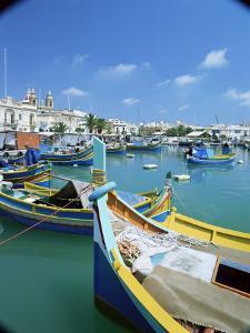 Fishing Harbour, Marsaxlokk, Malta, Mediterranean by Simon Harris