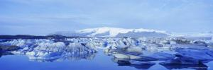 Jokulsarlon Glacial Lagoon, Vatnajokull Ice Cap, South Iceland, Iceland, Polar Regions by Simon Harris