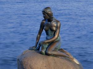 Little Mermaid, Copenhagen, Denmark, Europe by Simon Harris