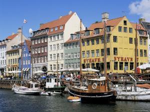 Nyhavn Canal, Copenhagen, Denmark, Scandinavia by Simon Harris
