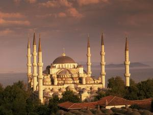 The Blue Mosque, Unesco World Heritage Site, Istanbul, Turkey by Simon Harris
