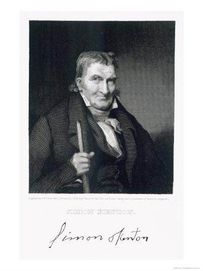 Simon Kenton-Louis W. Morgan-Giclee Print