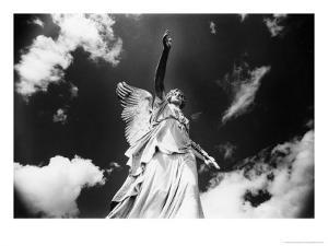 Angel, Powerscourt, County Wicklow, Ireland by Simon Marsden
