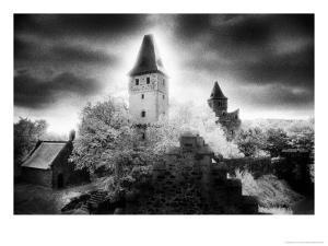 Castle Frankenstein, the Odenwald Valley, Germany by Simon Marsden