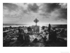 Crosspoint Cemetery, Belmullet, County Mayo, Ireland by Simon Marsden